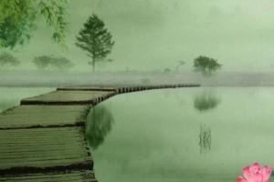 千年前江南湖畔的传说,他和她的梦,《穿越》了千年。。