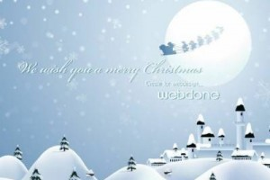 听起来感觉真的像是置身于净土世界:《We Wish You a Merry Christmas》