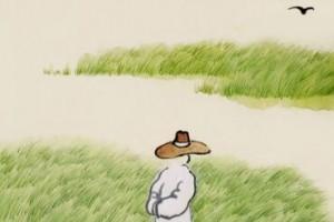 排满落叶的山道:《秋风のとおり道》