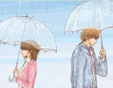 雨中的沉思: 伞下也是雨天