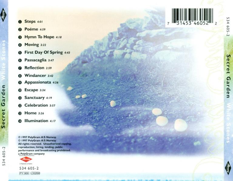 神秘园1997 白石 《White Stones》无损专辑下载