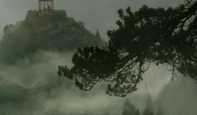 萧声悠悠,雨声绵绵:《云门夜雨》