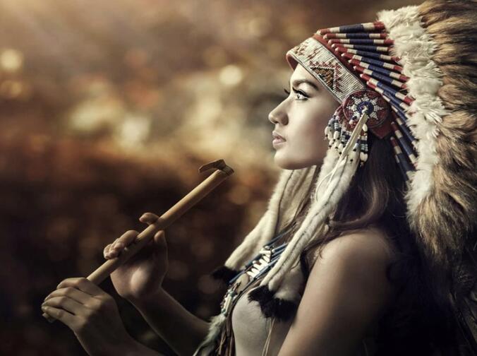 优美的印第安音乐:《inka purinan》