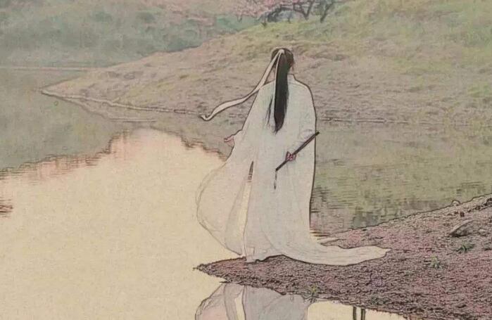 端坐磐石上,醉倒落花前:《溪行桃花源》