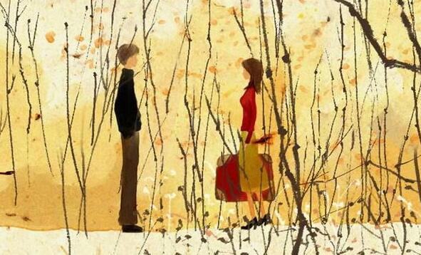 烟花极美,像极了那一年的冬天:《冬之恋 》