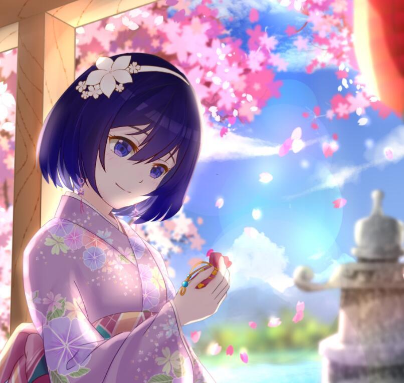 就像喜欢樱花味的春天一样喜欢你