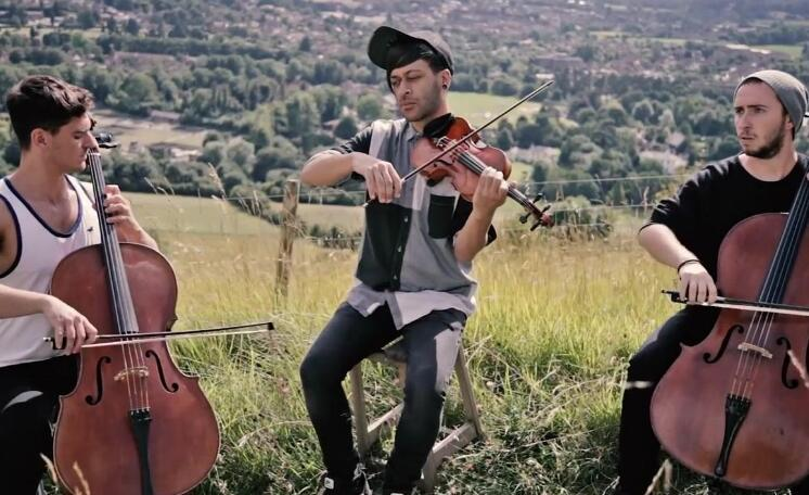欢快的提琴大聚会:《Alejandro》