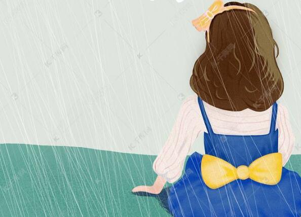 我喜欢看雨,有一种说不出的轻松和舒适:《雨天小记》
